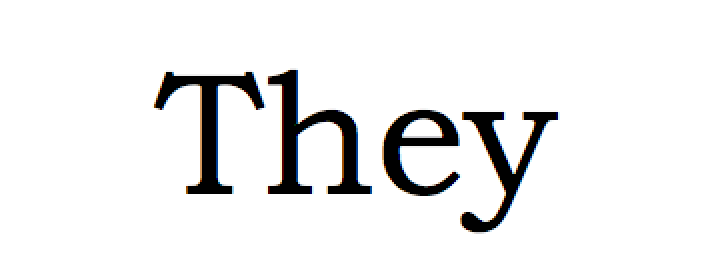 The Singular They: What's a writer todo?